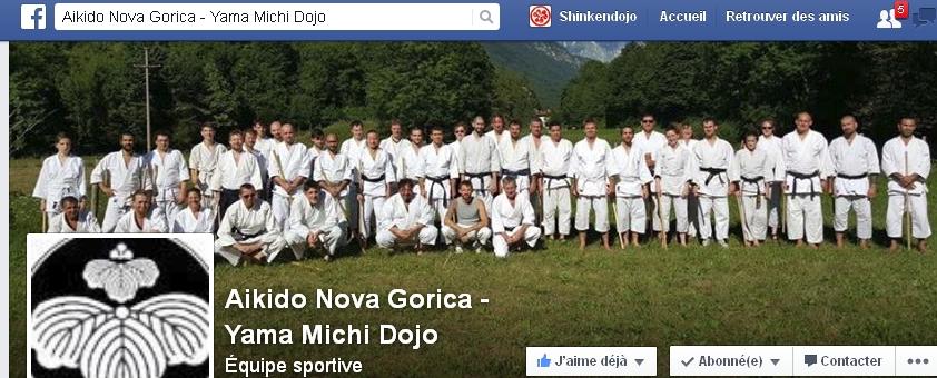 PAGE FB DU DOJO DE VLADIMIR & LAURENT YAMAMICHI SLOVENIA